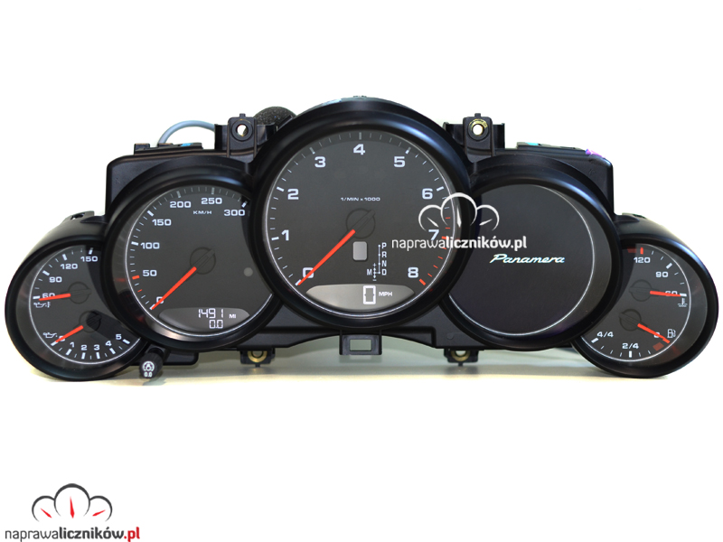naprawa licznika Porsche Panamera