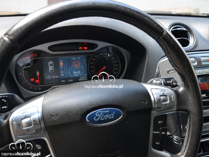 naprawa licznikow samochodowych Ford