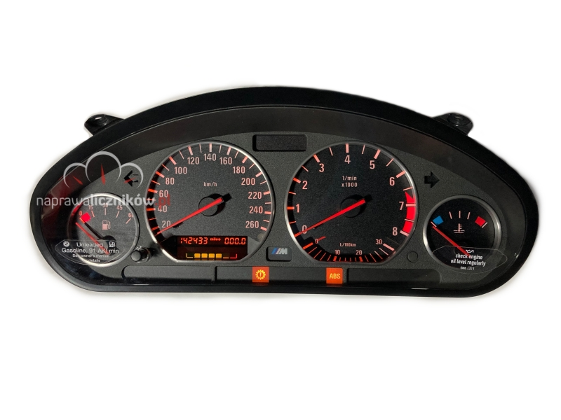 Naprawa licznika BMW E36