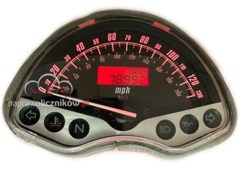 Naprawa licznika Honda VTX