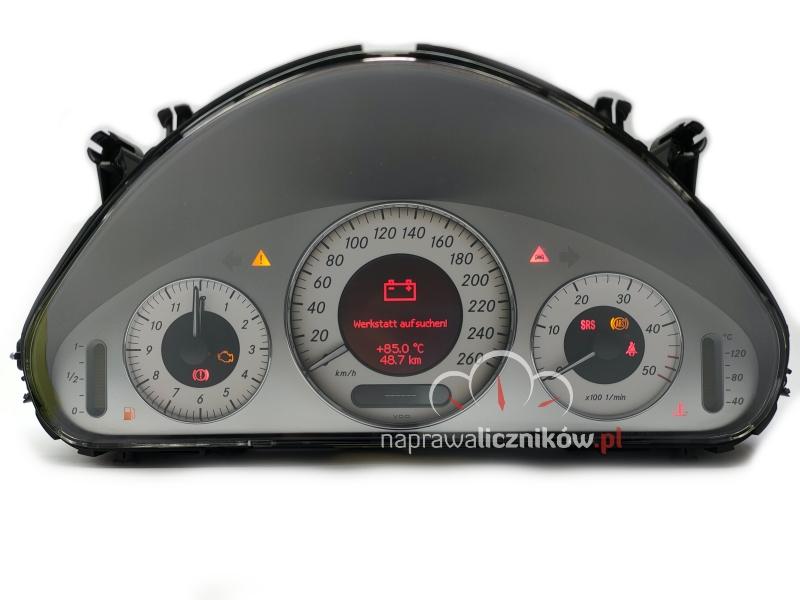 Naprawa licznika Mercedes W211 Avangarde