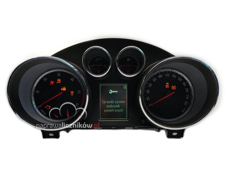 Naprawa licznika Opel Astra