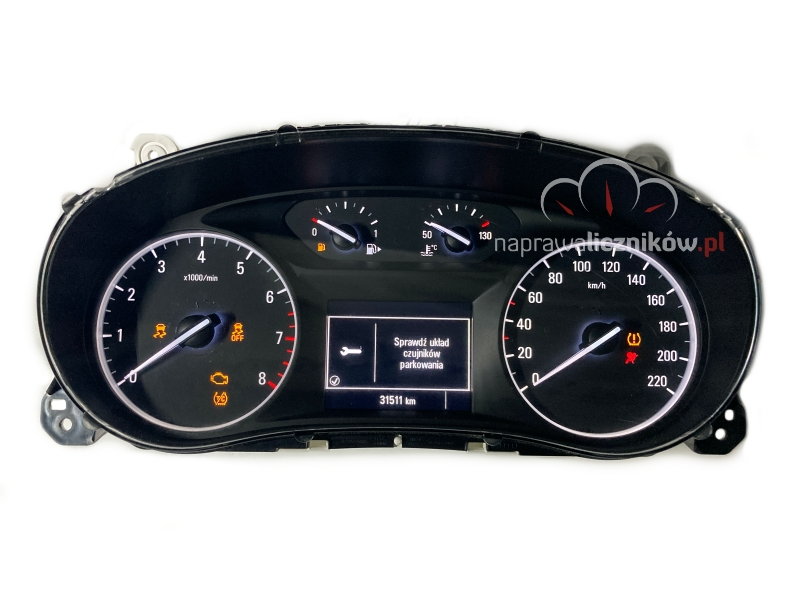 Naprawa licznika Opel Mokka