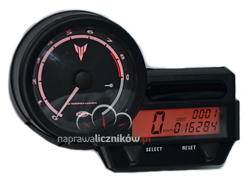Naprawa licznika Yamaha MT03