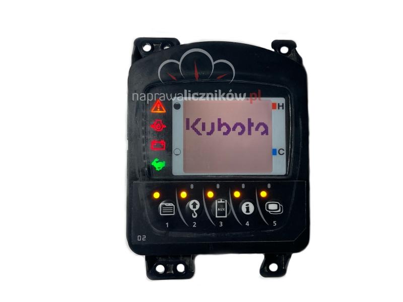 Naprawa wyświetlacza Kubota KX080-4